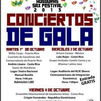 Honduras Sax Festival 2013